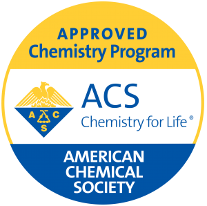 The B.S. Chemistry degree is certified by the American Chemical Society.